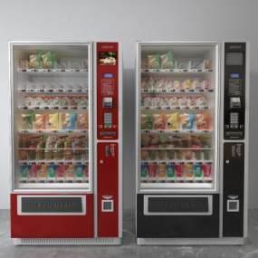 现代自动售货机3D模型【ID:433734572】
