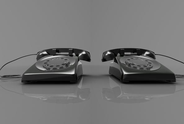 現代風格電話3D模型【ID:243483724】