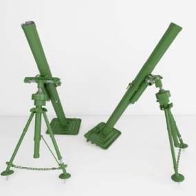 工业风格迫击炮3D模型【ID:433366204】