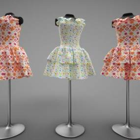 現代風格衣服3D模型【ID:247464507】