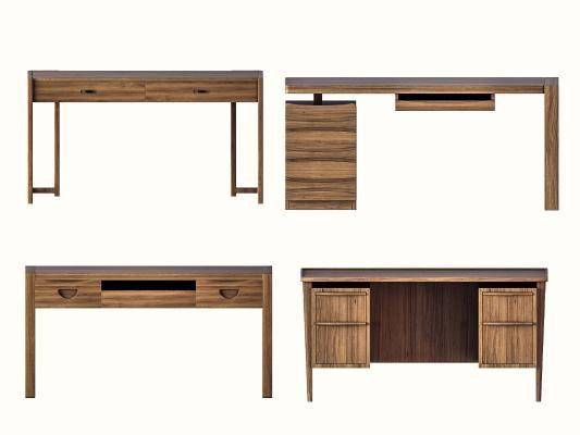 新中式书桌 写字台