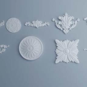 欧式构件3D模型【ID:348969437】