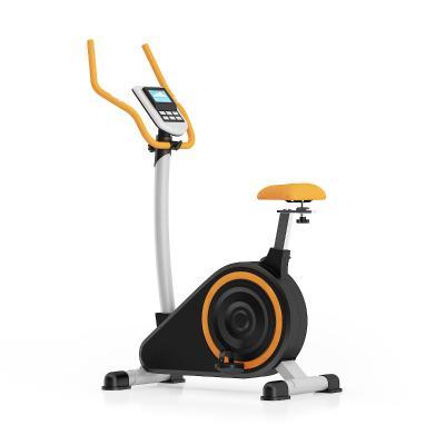 现代黑橙配色健身蹬车健身器SU模型【ID:547113116】