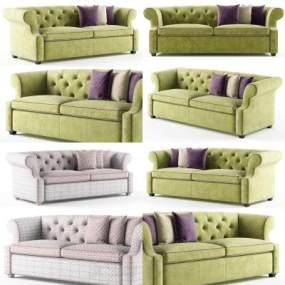 现代沙发3D模型【ID:653318536】