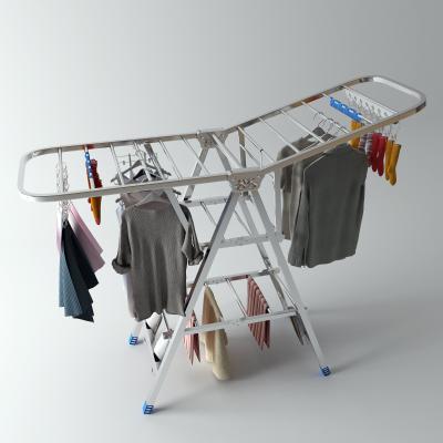 现代折叠晾衣架