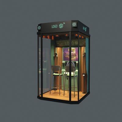 工業風迷你唱吧3D模型【ID:432833493】