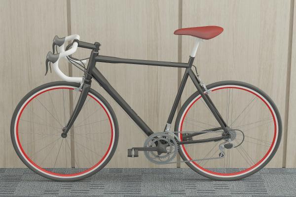 現代自行車單車賽車3D模型【ID:431201666】