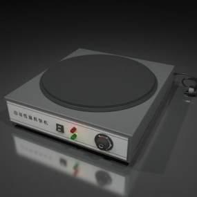 现代煎饼机3D模型【ID:237126880】
