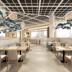 現代兒童主題餐廳3D模型【ID:651151201】