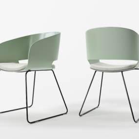现代简约单椅3D模型【ID:753292003】