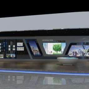 现代展厅3D模型【ID:935536746】