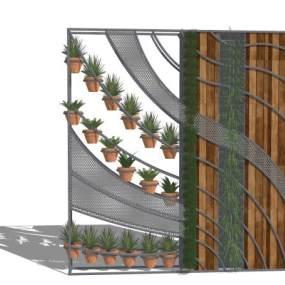 植物 绿植 盆栽 盆景 北欧盆栽 隔断 屏风 绿植墙【ID:444057927】