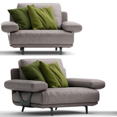 現代組合沙發3D模型【ID:646921658】