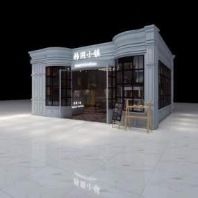 美式服装店3D模型【ID:133102049】