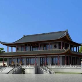传统中式古建大雄宝殿365彩票【ID:235614188】