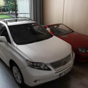 汽车私家车3D模型【ID:432195752】
