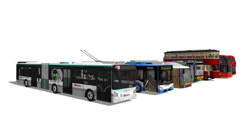 公交SU模型【ID:544056061】