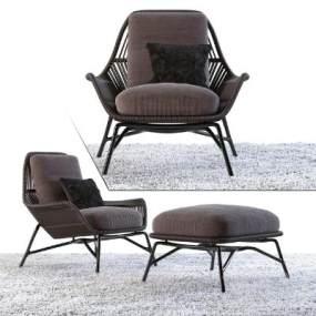 现代椅子Minotti Prince】