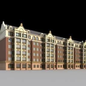 欧式住宅3D模型【ID:133233795】
