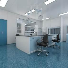 现代医院病理实验室3D模型【ID:943592763】