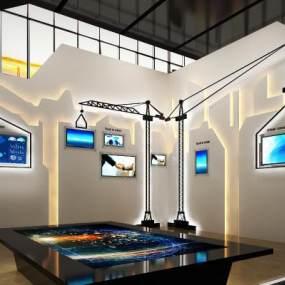 现代城市规划展厅3D模型【ID:949075762】