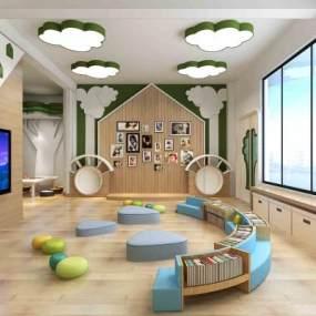 现代幼儿园儿童教室活动室365彩票【ID:935425698】