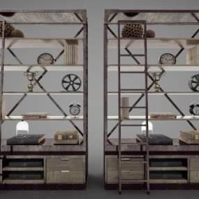 工业风格柜子3D模型【ID:146329138】