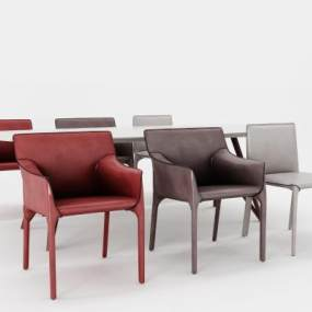 现代休闲椅3D模型【ID:732358011】