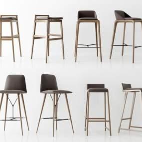 现代单椅3D模型【ID:746683289】
