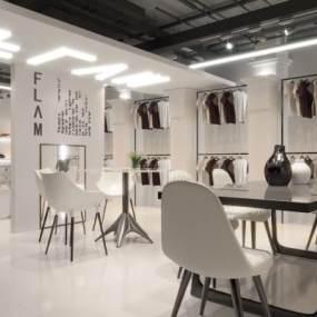 现代男装店3D模型【ID:152771072】