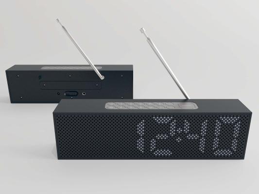 现代收音机3D模型【ID:452247466】