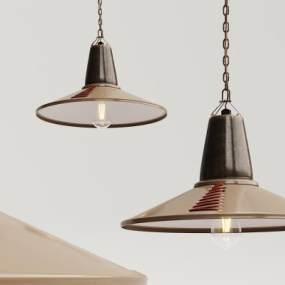 工业风金属吊灯3D模型【ID:734825810】