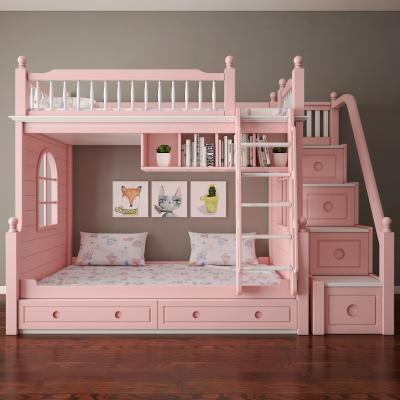 美式儿童床3D模型【ID:836233814】