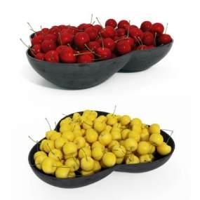 水果盤3D模型【ID:243909528】
