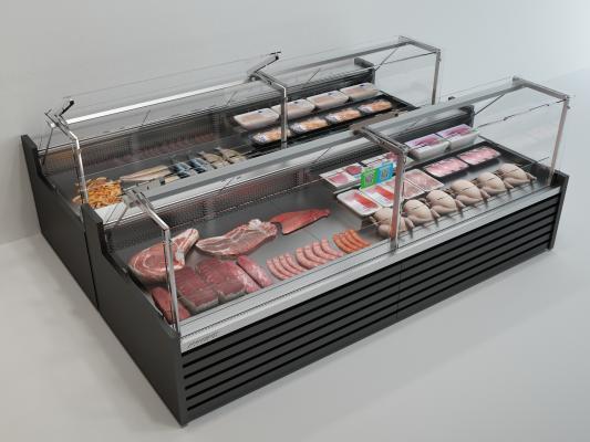 現代冰柜3D模型【ID:452044009】