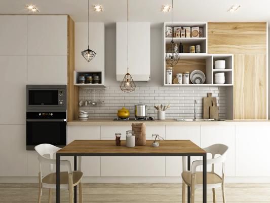 北欧厨房橱柜