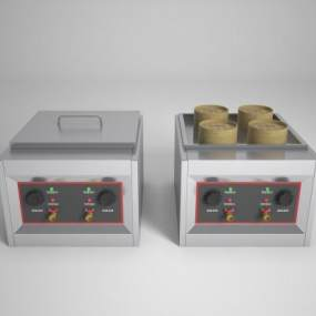 现代蒸包炉3D模型【ID:235283619】