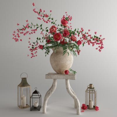 现代花瓶3D模型【ID:252992864】