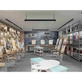 现代学校画室画架美术器材画板365彩票【ID:935428616】