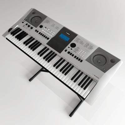现代电子琴3D模型【ID:452418497】