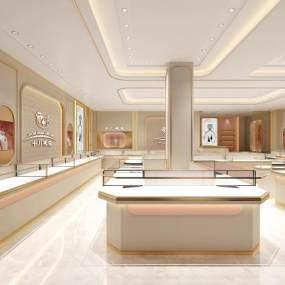 现代珠宝专卖店3D模型【ID:935807807】