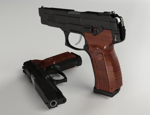 手枪MP-4433D模型【ID:440647203】