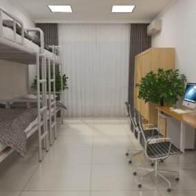 员工宿舍3D模型【ID:930461959】