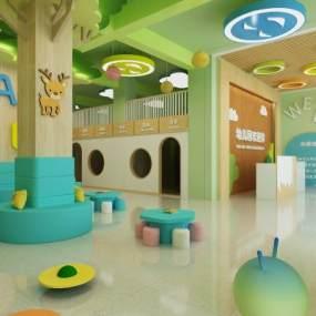 現代幼兒園3D模型【ID:951207688】