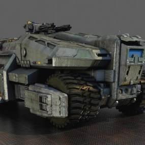 科幻戰車 3D模型【ID:440629745】