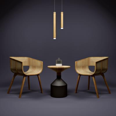 现代休闲桌椅3D模型【ID:743597014】