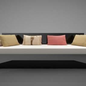 新中式风格沙发3D模型【ID:645476660】