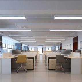 现代办公室3D模型【ID:934784044】
