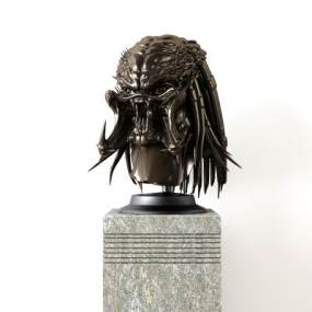 现代雕塑 3D模型【ID:342184116】