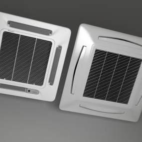 现代空调3D模型【ID:231337608】